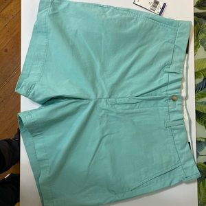 POLO RALPH LAUREN Stretch Classic Fit Teal Shorts